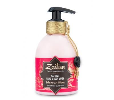 """Крем-мыло для рук и тела """"Эфиопский купаж"""": дамасская роза и кардамон"""