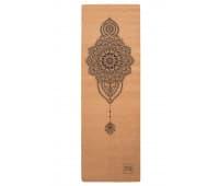 """Коврик для йоги """"Mehendi"""" Yoga Club, 3 мм"""