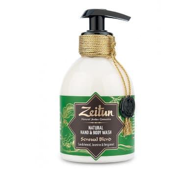 """ZEITUN Крем-мыло для рук и тела """"Чувственный купаж"""": сандал и жасмин"""