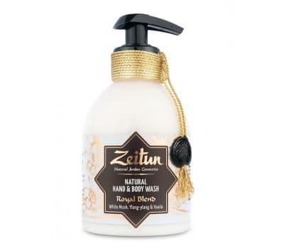 """ZEITUN Крем-мыло для рук и тела """"Королевский купаж"""": мускус и ваниль"""