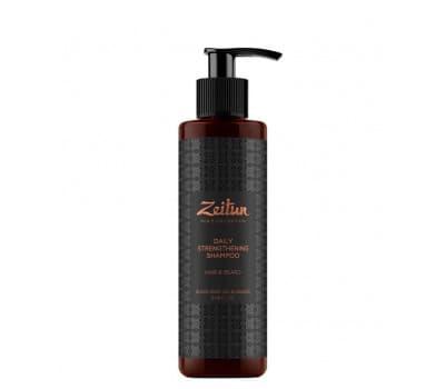 Укрепляющий стимулирующий шампунь для волос и бороды с имбирем и черным тмином для мужчин