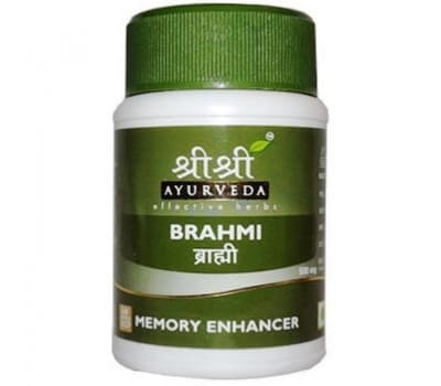 Брахми Шри Шри Аюрведа / Brahmi Sri Sri Ayurveda - 60 таб (Для мозга и памяти)