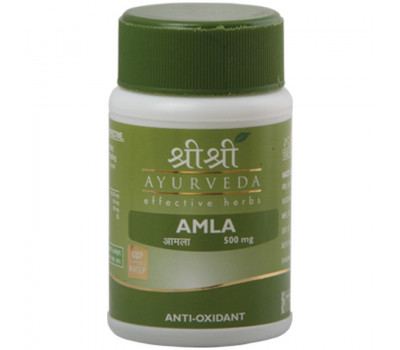 Амла Шри Шри Аюрведа / Amla Sri Sri Ayurveda - 60 таб (Омоложение)