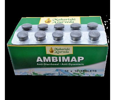 Амбимап Махариши Аюрведа / Ambimap Maharishi Ayurveda - 100 таб (От Диареи и Отравлений)
