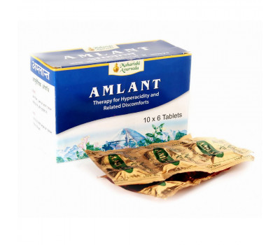 Амлант Махариши Аюрведа / Amlant Maharishi Ayurveda - 60 таб (Для желудка)