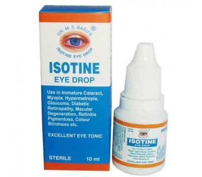 Айсотин / Isotine - 10 мл (Глазные капли)