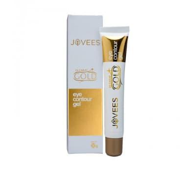 Контурный гель для глаз с добавлением золота, Jovees