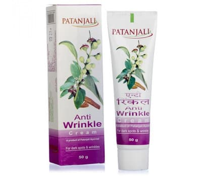 Крем от Морщин Патанджали / Anti Wrinkle Cream Patanjali - 50 гр (Омолаживающий)