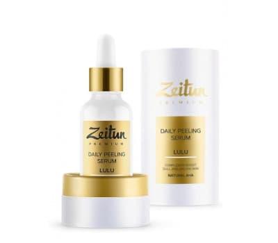 Ежедневная пилинг-сыворотка для лица LULU с натуральными АНА-кислотами Zeitun