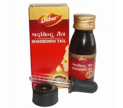 Масло Шадбинду Дабур / Shadbindu Tail Dabur - 25 гр (Для Носа)