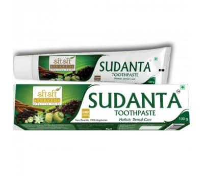 Зубная паста Суданта Шри Шри Аюрведа / Sudanta Sri Sri Ayurveda - 100 гр