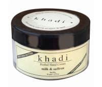 Крем для рук Молоко Шафран Кхади / Hand Cream Milk & Saffron Khadi - 50 гр