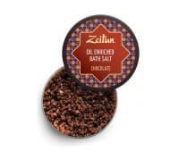 """Соль для ванн """"Шоколадная"""" с маслом плодов какао и ванилью, 250 гр"""