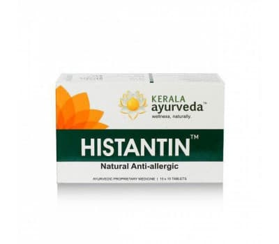 Хистантин Керала Аюрведа/Kerala Ayurveda Histantin,100 таб (от аллергии)