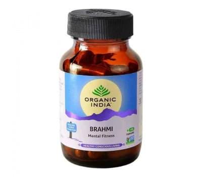 Брахми Органик Индия/Brahmi Organic India,60 таб(для мозга и памяти)
