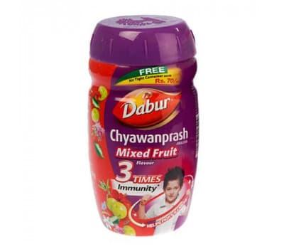 Чаванпраш Дабур Мультифрукт / Chyawanprash Dabur Mixed Fruit - 900 гр