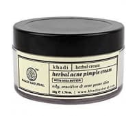 Крем Кхади (против акне и черных точек) / Herbal acne pimple cream, Khadi 50 гр