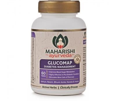 Глюкомап / Glucomap Maharishi Ayurveda, 60 шт (от диабета)