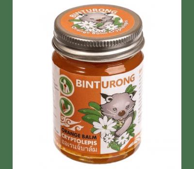 Расслабляющий бальзам с криптолеписом / Orange balm cryptolepis Binturong - 50 гр