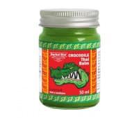 Заживляющий крокодиловый бальзам / Crocodile Thai balm Binturong - 50 гр