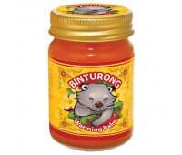 Согревающий бальзам с перцем чили / Warming balm BINTURONG - 50 гр