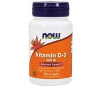 Витамин D-3, Now Foods (400 МЕ)
