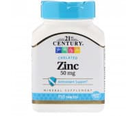 "Цинк, ""21st Century"",  110 таблеток"