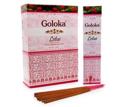 Благовония Лотос Голока / Lotus Goloka - 15 гр
