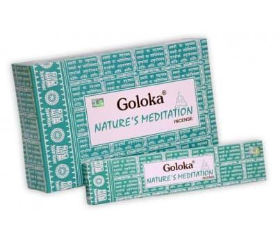 Благовония Медитация Голока / Natures Meditation Goloka - 15 гр