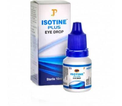 Купить Айсотин Плюс / Isotine Plus - 10 мл (Глазные капли)