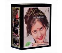 Хна светло-черная для окрашивания волос Herbul, 6х10 гр