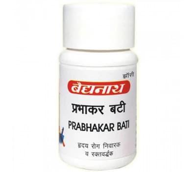 Прабхакар Вати Байдьянатх / Prabhakar Bati Baidyanath - 80 таб (Для Сердца и сосудов)