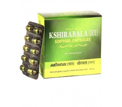 Кширабала 101 / Kshirabala 101 (от бессонницы и стресса), 100 капсул