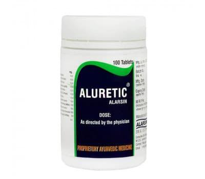 Алуретик Аларсин / Aluretic Alarsin - 100 таб (Мочегонное)