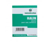 Халин Нагарджуна / Halin Drops Soft Gel Capsules Nagarjuna - 50 капс (От Респираторных Заболеваний)