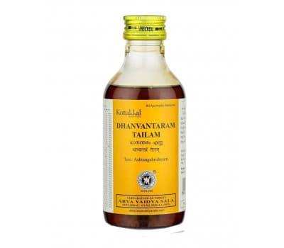 Массажное масло Дханвантарам Тайлам Коттаккал / Dhanvantaram tailam Kottakkal