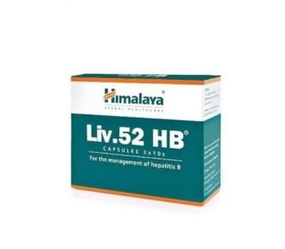 Лив 52 HB / Liv 52 HB Himalaya - 30 капс (От Гепатита)