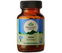 Ним Органик Индия / Neem Organic India - 60 капс (Для Кожи)