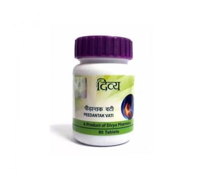 Пидантак Вати / Peedantak Vati, 80 таблеток (Для суставов и мышц)
