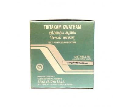 Тиктакам Кватхам Коттаккал / Tiktakam Kwatham Kottakkal - 100 таб (От Кожный Заболеваний)