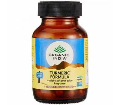 Турмерик Органик Индия/Turmeric organic India-60 капc(для Иммунитета)