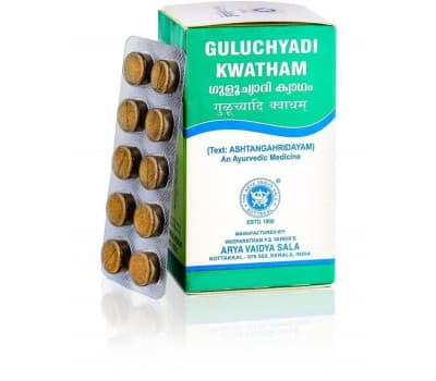 Гулучади Кватхам Коттаккал/Guluchyadi Kwatham Kottakkal-100 таб(От Аллергии, Для Кожи)