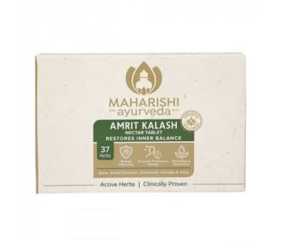 Амрит Калаш Махариши Аюрведа / Amrit Kalash Maharishi Ayurveda - 60+60 таб (Без сахара)