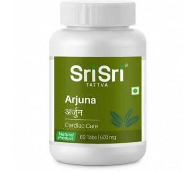 Купить Арджуна Шри Шри Аюрведа / Arjuna Sri Sri Ayurveda - 60 таб (Для сердца)
