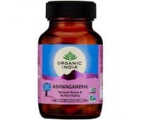 Ашвагандха Органик Индия / Ashwagandha Organic India - 60 капс
