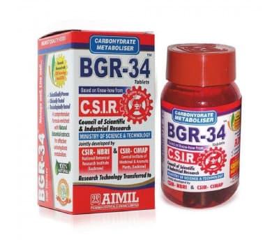 БГР-34 Аймил/ BGR-34 Aimil - 100 таб (От Диабета)