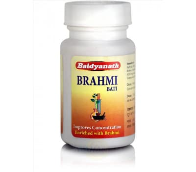 Брахми Вати Байдьянатх / Brahmi Bati Baidyanath - 80 таб (Для Мозга и Памяти)