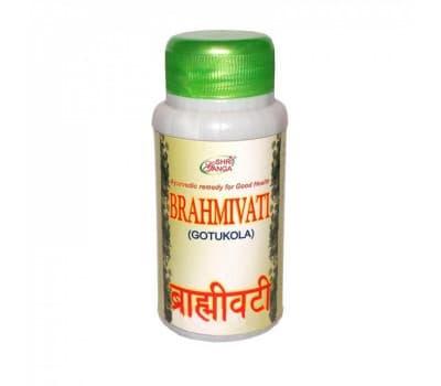 Брахми Вати Шри Ганга / Brahmivati (Gotukoka) Shri Ganga - 200 таб (Для Мозга и Памяти)