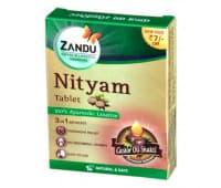 NITYAM слабительное средство, Zandu / Нитьям Занду, 12 таб.