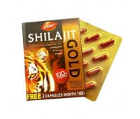 Шиладжит Голд Дабур / Shilajit Gold Dabur - 10 капс (Для Потенции)